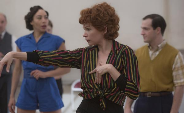Michelle Williams gives it her all as Gwen Verdon in Fosse/Verdon.