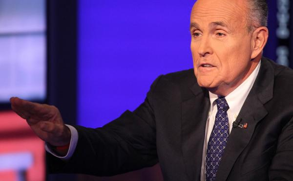 Former New York City Mayor Rudolph Giuliani appeared on the Fox Business Network earlier this year. He has been a frequent cable news commentator about the Eric Garner and Michael Brown cases.