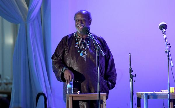 Actor and singer Francois Clemmons reflects on his role as Officer Clemmons on Mr. Rogers' Neighborhood on Ask Me Another during the Nantucket Film Festival in Nantucket, Massachusetts.