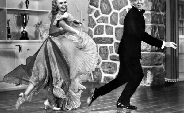 Fred Astaire and Ginger Rogers gave Americans a much-needed on-screen escape in the 1930s. Above, they dance in the 1938 comedy musical Carefree.
