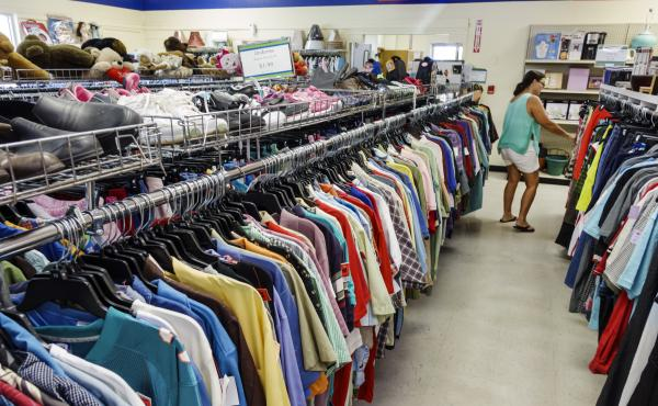 Author Adam Minter estimates that the average U.S. thrift store is able to sell only about one-third of its inventory. In his new book, Secondhand, he finds out what happens to the other two-thirds.