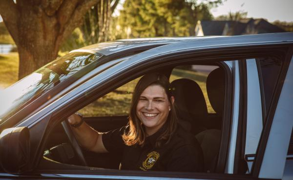 Anna Lange, who works for the sheriff's office in Houston County, Ga., discovered that her health insurance plan excludes transgender services. She is seeking to challenge that policy.