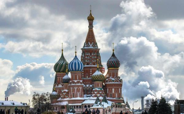 In Moscow, Russian voters will head to the polls on Sunday to cast their votes in the country's presidential election.