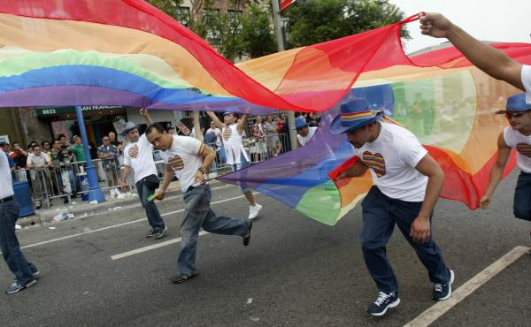 This year, West Hollywood, Calif. and other cities are holding Resist Marches in place of LGBT Pride Parades.