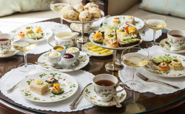 The Windsor Court Hotel in New Orleans began holding afternoon tea in 1984. A representative says the hotel held daily afternoon tea times until Hurricane Katrina struck in 2005.