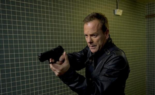 Kiefer Sutherland as Jack Bauer in the 2014 TV show 24: Live Another Day.