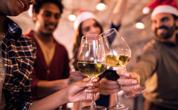 Drinking with co-workers can be festive — and fraught. In an informal survey of Salt readers, 25 percent of you told us you'd gotten tipsy enough to regret it at an office party, and 80 percent said you'd seen a co-worker overdo it, with embarrassing re