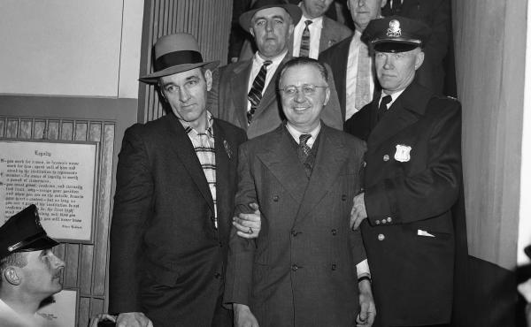 "George Metesky, the ""Mad Bomber,"" planted dozens of bombs across New York City, motivated by his anger at his former employer, the Consolidated Edison utility company."