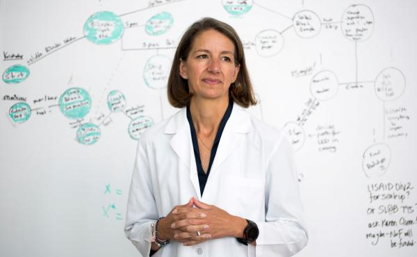 """Rebecca Richards-Kortum is a """"genius grant"""" winner with a very busy schedule. The engineering professor, who encourages students to come up with medical devices that will be valuable in the developing world, is the mother of six and a marathon runner."""