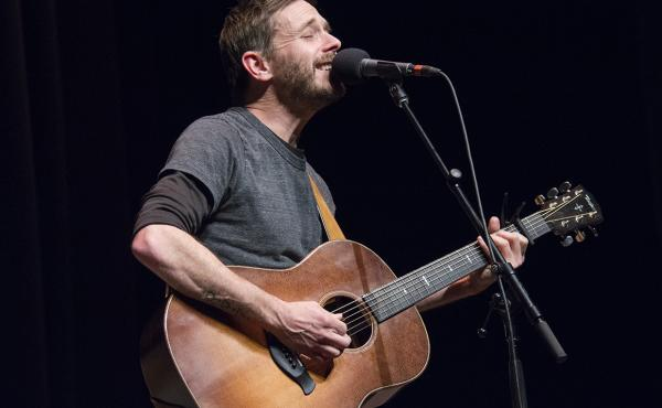 Singer and songwriter Glen Phillips performs on Mountain Stage.