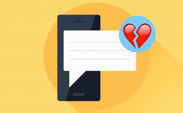 When is it easier to ignore that text message than reply to it?