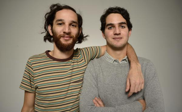 Brothers Josh (left) and Benny Safdie are the directors of the new action thriller Good Time.