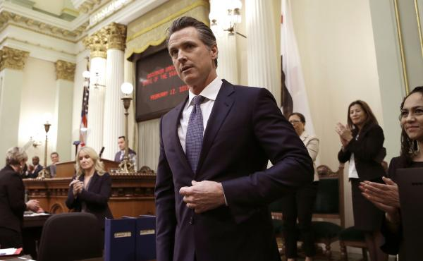 Calif., Gov. Gavin Newsom will sign an order on Wednesday imposing a moratorium on California's death penalty.