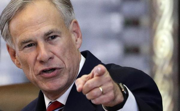 Gov. Greg Abbott, pictured in Feb. 2019, said Texas does not consent to allow refugees to resettle within the state.