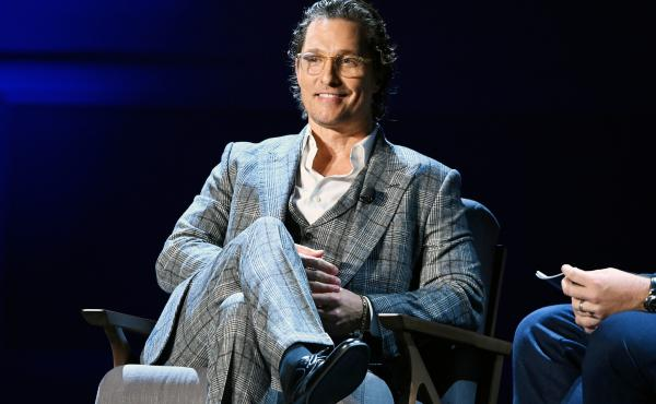 """Matthew McConaughey, the star of Dazed and Confused and Dallas Buyers Club, isn't not thinking about throwing his cowboy hat in the race for """"CEO"""" of Texas."""