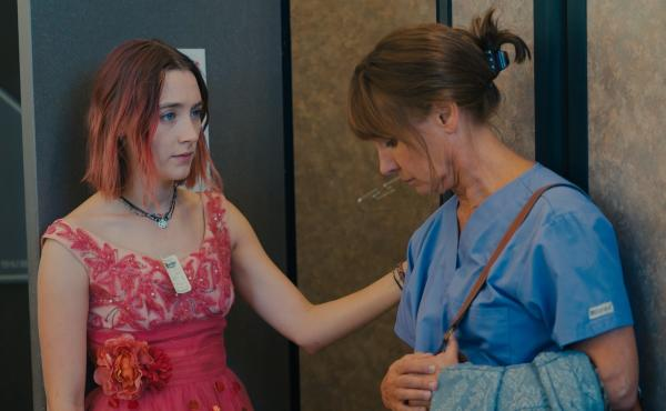 Saoirse Ronan and Laurie Metcalf play a daughter and mother who clash and connect in Lady Bird.