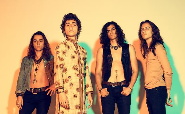 Greta Van Fleet's debut album, Anthem of the Peaceful Army, is out now via Republic Records.