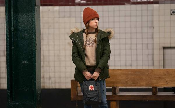 Darby (Anna Kendrick) waits for love (and the A Train) in Love Life, an original series launching with HBO Max.