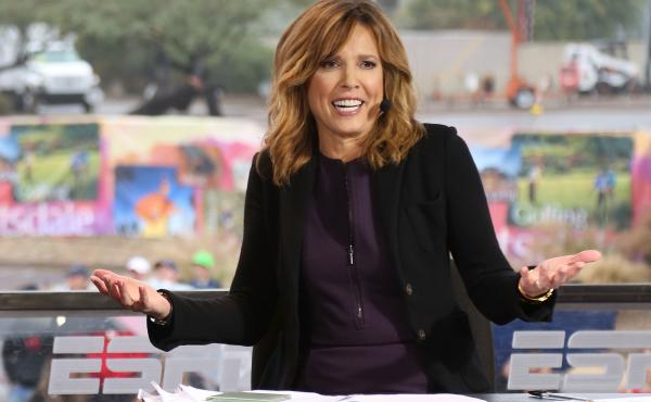 Hannah Storm (shown here) and Andrea Kremer are Amazon Prime Video's sportscasting team and are set to call 11 NFL games this season.