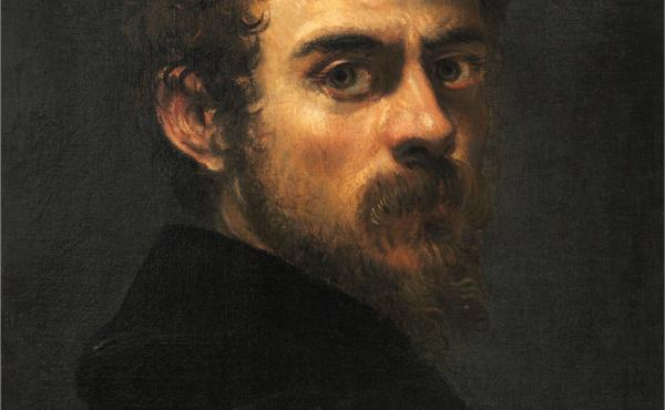 Tintoretto was in his late 20s when he painted this self-portrait circa 1546/48. (Scroll down to compare this portrait to one he painted 40 years later.)