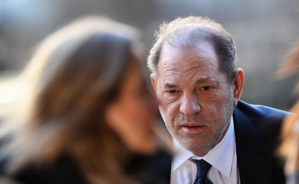 Harvey Weinstein arrives at the courthouse in Manhattan for a hearing last month. The jury convicted the disgraced Hollywood mogul of rape and sexual abuse after six women testified that he sexually assaulted them.