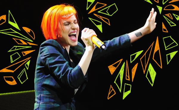 Hayley Williams of Paramore performs onstage in Chicago, Ill. in 2013.