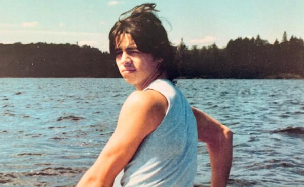 Cas Torres, pictured in 1987 in his late teens, around the same time he was imprisoned and transferred to New York City's Hart Island.