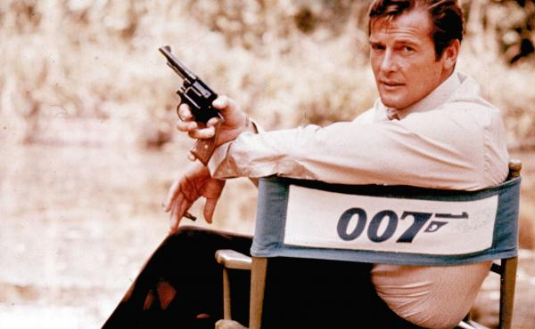 "Roger Moore described his most famous role as ""a lover and a giggler."""