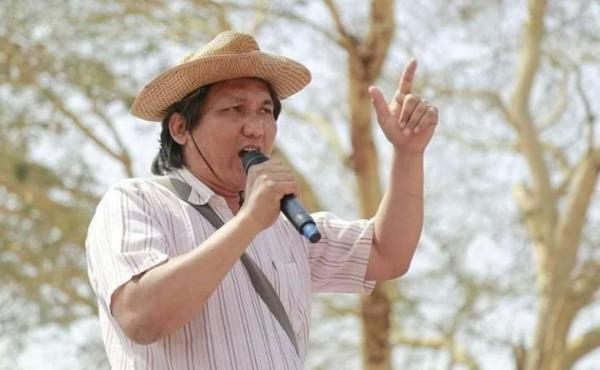 """Myanmar poet Khet Thi died in police custody early last month. Authorities """"said he died because of heart disease,"""" his widow Chaw Su says. """"But they just beat his head in."""""""