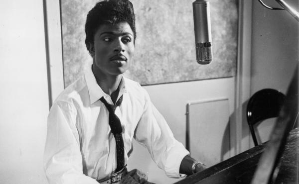 Little Richard in the studio, circa 1959.