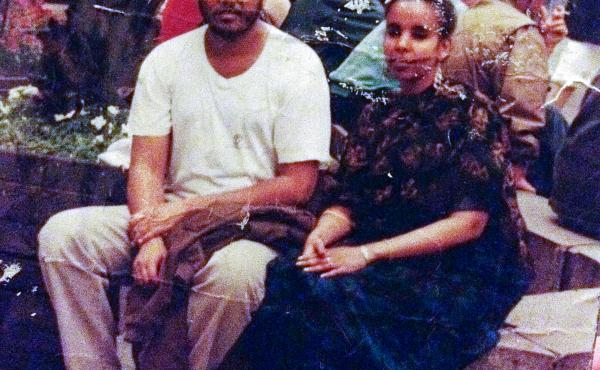 Mohamed and Ismahan Barud are together in Somalia in 1991, after his release from prison.