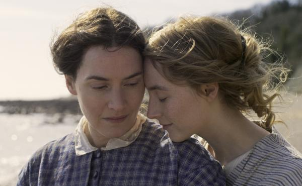 Kate Winslet and Saoirse Ronan star as Mary Anning and Charlotte Murchison in Ammonite.