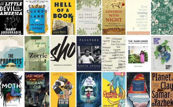 A selection of the 2021 National Book Award finalists