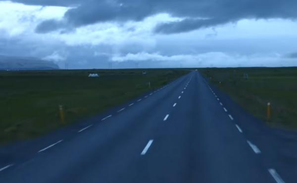 """A still from """"Route One"""" by Sigur Rós"""