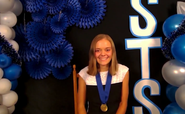 Lillian Kay Petersen, 17, from Los Alamos, N.M., won first place in the 2020 Regeneron Science Talent Search, a science and math competition for high school seniors. The pandemic meant a virtual Zoom ceremony rather than what's usually a black-tie gala ce