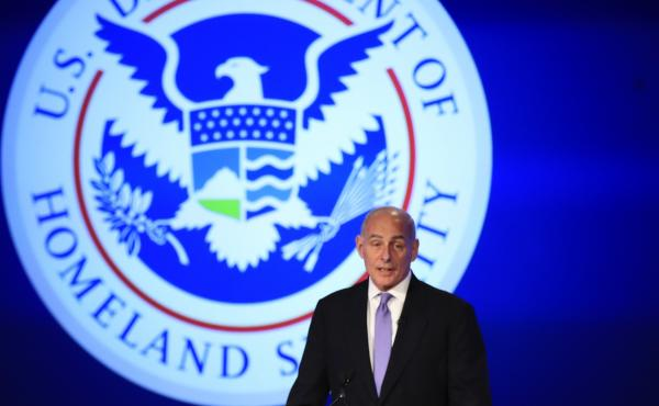 Homeland Security Secretary John Kelly, pictured in April, is extending the Temporary Protected Status designation for Haitians in the U.S. until January 2018. But he says conditions are improving in Haiti, seven years after an earthquake killed more than