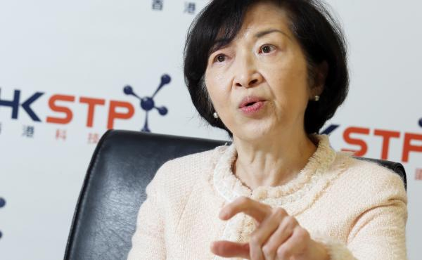 Fanny Law, seen in a 2017 interview with The South China Morning Post, is a member of Hong Kong's Executive Council. She apologized on Wednesday for underestimating the backlash to a controversial now-withdrawn extradition bill.