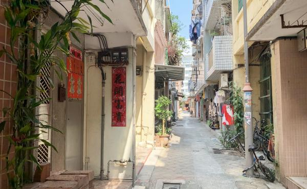 "Nam Pin Wai, a so-called ""indigenous village"" — where residents' ancestors predated British colonial rule of Hong Kong — is steps away from the Yuen Long metro station. Nam Pin Wai is where assailants retreated after beating anti-government protesters"