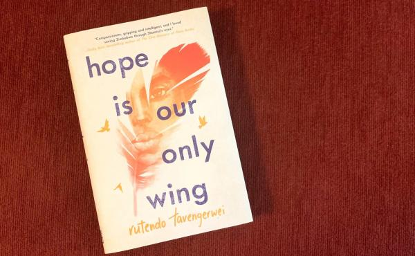 Hope Is Our Only Wing, by Rutendo Tavengerwei