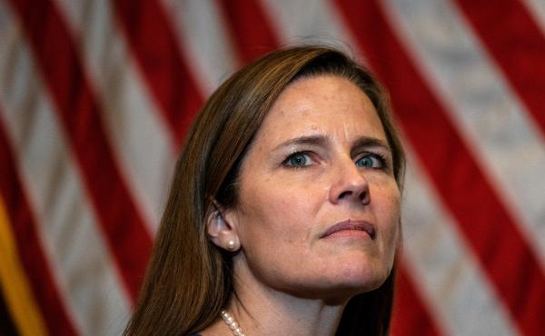 U.S. Supreme Court Justice Amy Coney Barrett's first opportunity to weigh in on abortion and contraception could come as early as this week, as the high court decides whether to take up a Mississippi case.