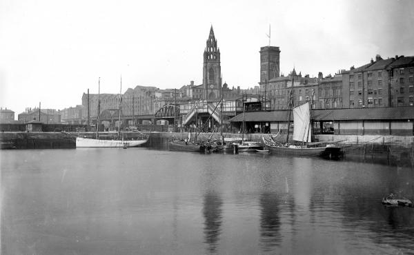 Shipping workers recorded the tide levels beginning in 1854 at St. George's Dock in Liverpool, England, creating valuable records for future scientists.