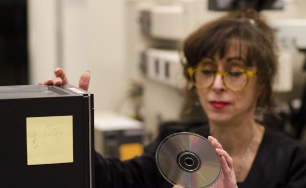 """Many institutions have their archives stored on CDs — but the discs aren't as stable as once thought. There is no average life span for a CD, says preservationist Michele Youket, """"because there is no average disc."""""""