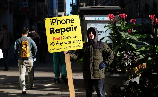 The executive order unveiled Friday includes plans to make it easier for people to fix their phones or other equipment themselves.