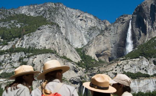 Yosemite is one of seven national parks defaced by Casey Nocket in 2014, the National Park Service says.