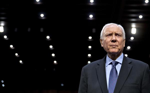 Though his politics are right of center and he lobbied hard against the Affordable Care Act, Republican Sen. Orrin Hatch also has been key to passing several landmark health laws with bipartisan support.