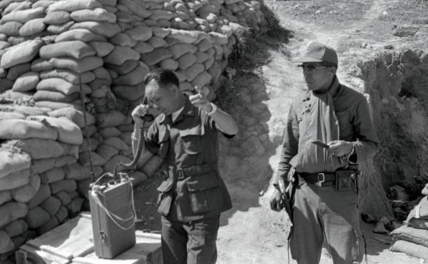 Laotian Gen. Vang Pao, seen here calling in air strikes against suspected Communist positions from the Long Cheng Command Post in January 1972, led an army of Hmong tribesmen to fight against Communist insurgents backed by the North Vietnamese. A CIA-led