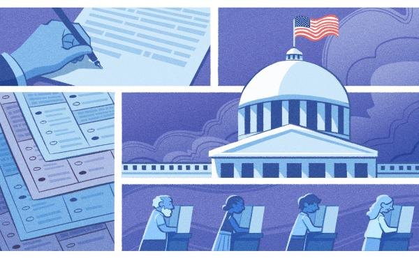 The Voting Rights Act of 1965, and the legal blows it has taken, are central to the current political fight over voting access.