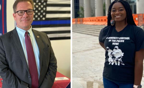 Dean Black is the GOP Duval county chair, which includes Jacksonville, Fla. American History teacher Monique Sampson recently decided to vote for Joe Biden. Duval county hasn't voted for a Democratic president since Jimmy Carter in 1976. But in recent pre
