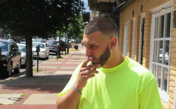 After a string of inpatient rehabilitation stays, Louis Casanova, who lives near Philadelphia, says he is still trying to break his addiction.