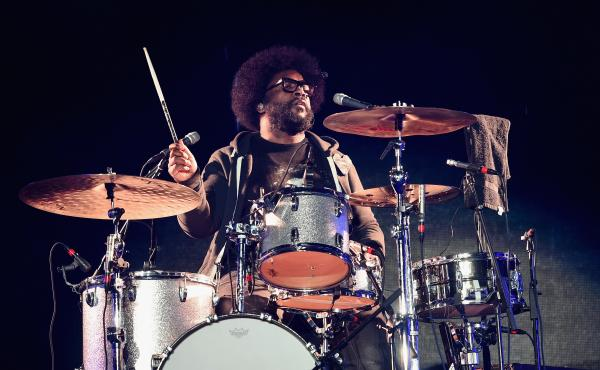 Questlove, The Roots' drummer and Tonight Show bandleader, says fellow producer Just Blaze's talent is both inspiring and infuriating.